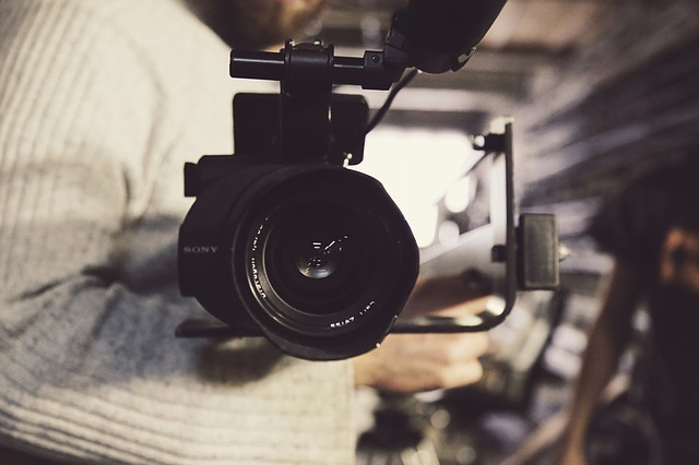 camera shooting for autobiography video